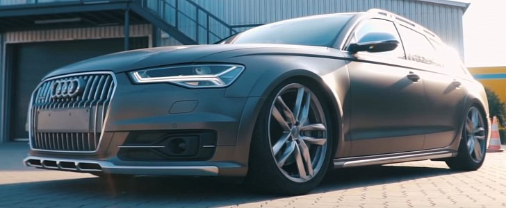 audi a6 allroad sounds like rs6 thanks to active sound. Black Bedroom Furniture Sets. Home Design Ideas