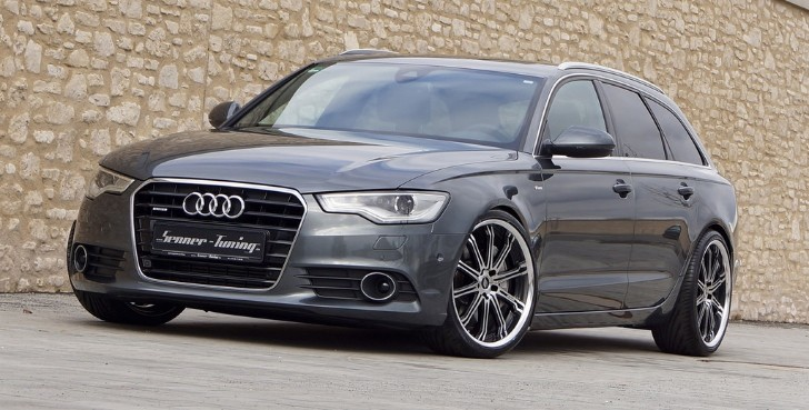 Audi A6 Avant BiTDI Tuned to 375 HP by Senner