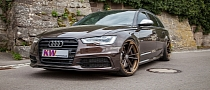Audi A6 Avant Gets KW Suspension and 21-Inch Wheels [Photo Gallery]
