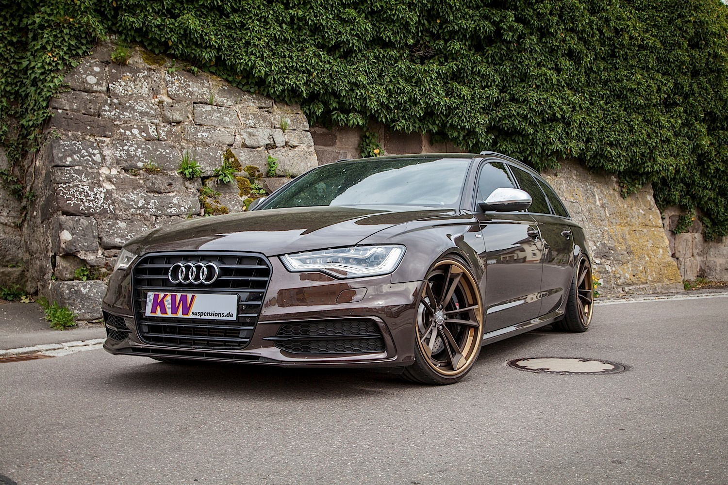 audi a6 avant gets kw suspension and 21 inch wheels autoevolution. Black Bedroom Furniture Sets. Home Design Ideas