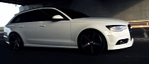 Audi A6 Becomes Art in Slow Motion [Video]