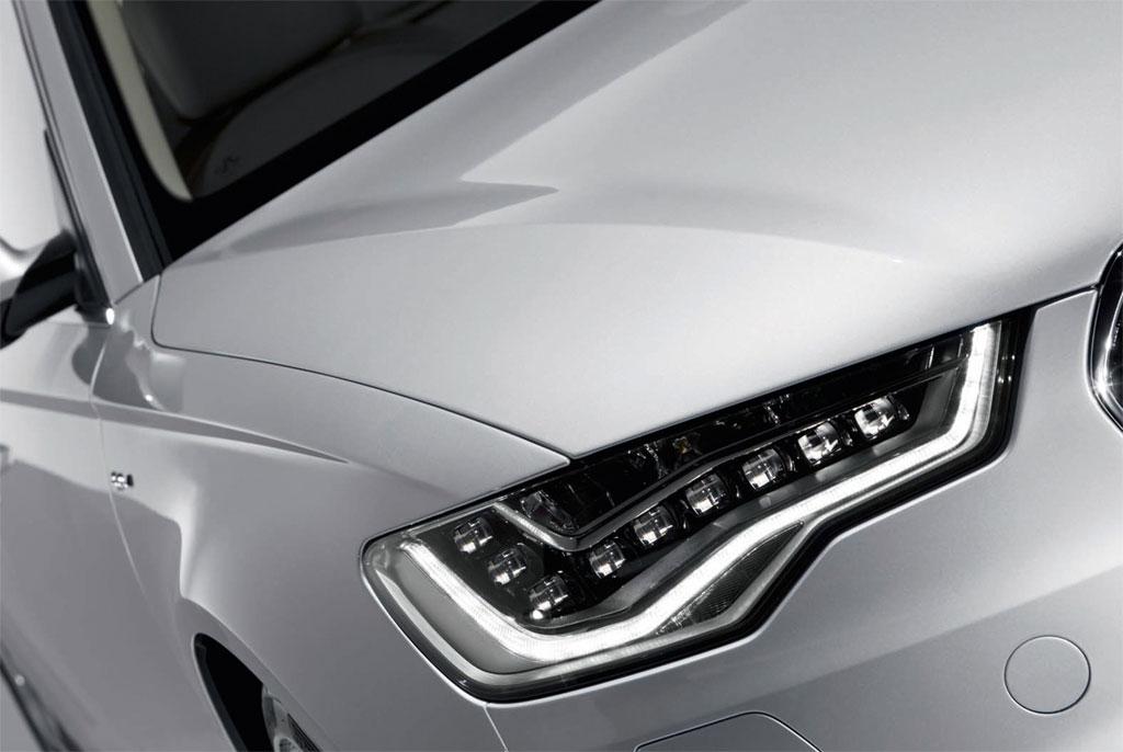 Audi A6 Gets Optional Led Headlights Autoevolution