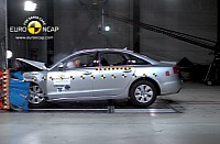Audi A6 crash tests
