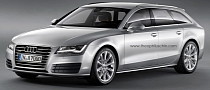 Audi A7 Avant Rendering: What If?