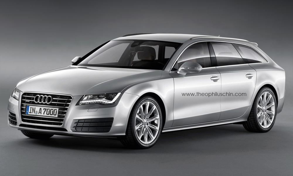 Audi A7 Avant Rendering What If Autoevolution