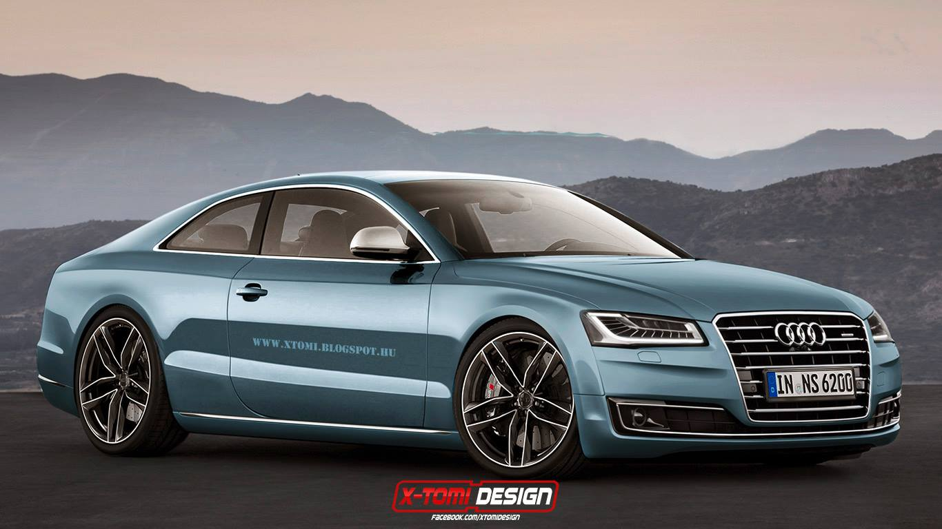 Audi A Coupe Wants To Start A Luxury TwoDoor War With Mercedes - 2 door audi
