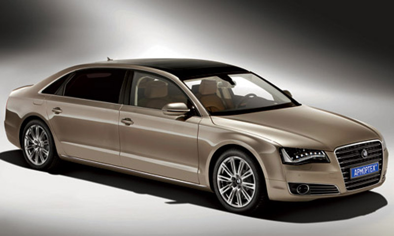 Audi A8 Pullman >> Audi A8 L Receives Armor from Russia's ArmorTech - autoevolution