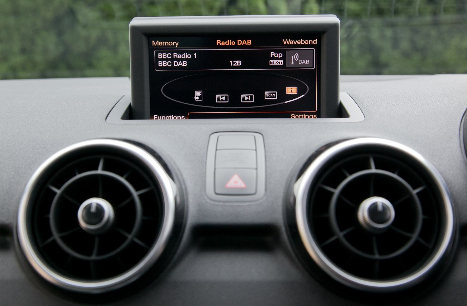 audi announces digital radio will be standard on all cars. Black Bedroom Furniture Sets. Home Design Ideas
