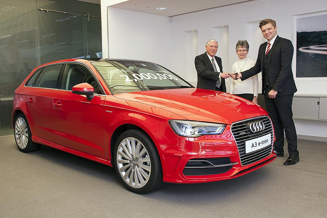Audi Celebrates Million Car Sales In Great Britain Autoevolution - Audi car sales