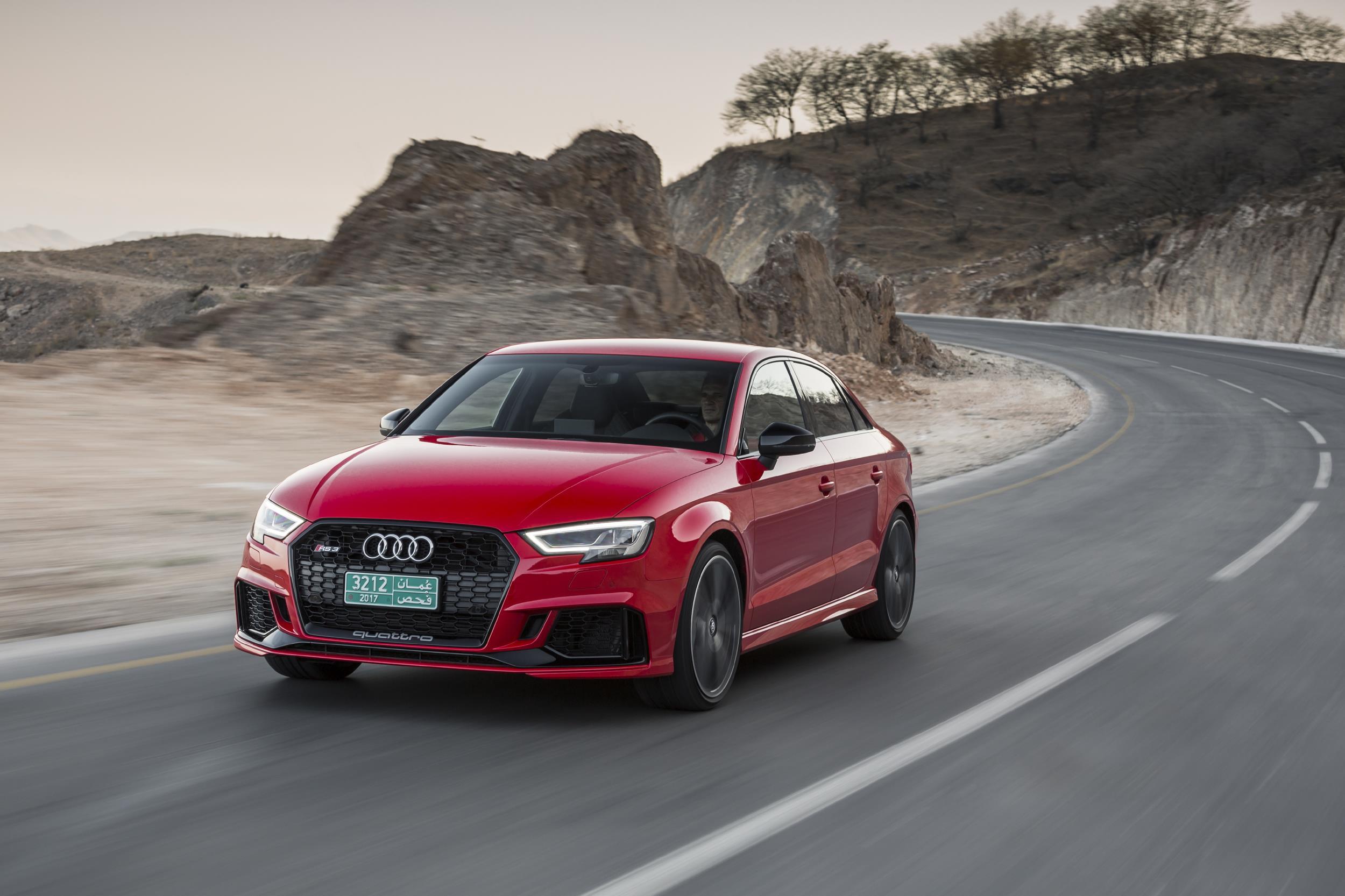 Audi Confirms U.S. Debut Of 2018 RS 3 Sedan At 2017 NYIAS - autoevolution
