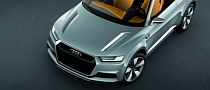 Audi Crosslane Concept Unveiled, Previews Q2 [Photo Gallery]