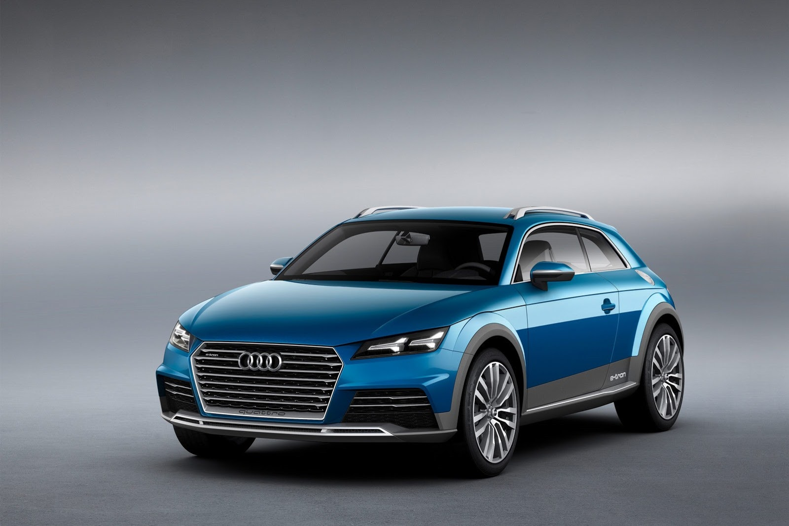 6 Photos Audi Crossover Coupe Concept Audi Crossover