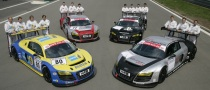 Audi Debut Definitive R8 LMS GT3 at Nurburgring 24 Hour Race