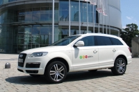 Test vehicle research initiative Aktiv by Audi