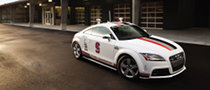 Audi Dresses Up the TTS Racecar for Pikes Peak [Video]