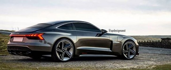 Audi E-Tron GT Coupe Rendered as Electric Flagship ...