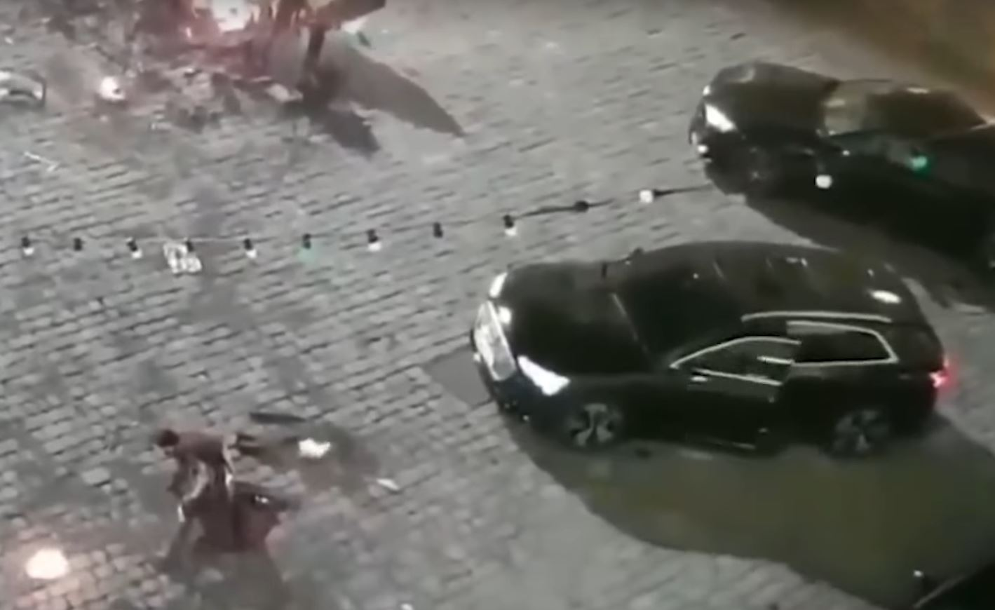 Audi E Tron Spotted On Spider Man Far From Home Movie Set Autoevolution