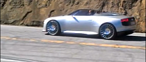 Audi e-tron Spyder Spotted in California [Video]