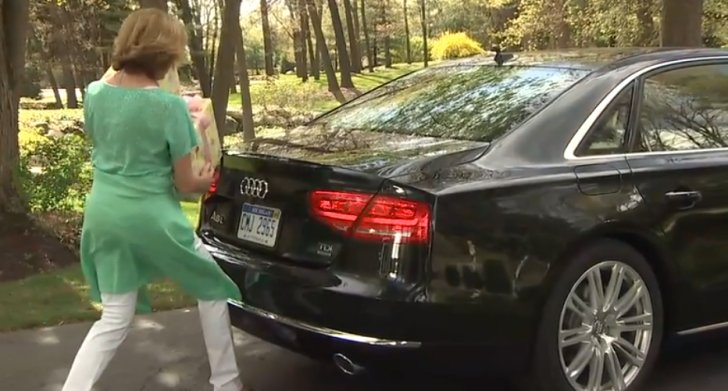 Audi Explains Hands Free Trunk Release [Video]
