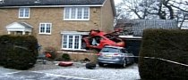 Audi Flies Into House, Wrecks Two More Cars on the Way