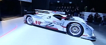 Audi Hybrid Race Car Unveiled in Munich [Video]