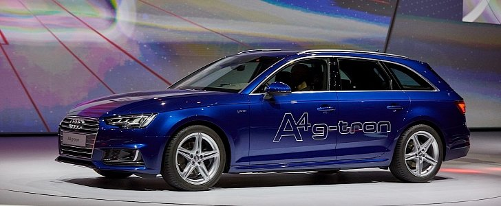 Audi A4 g-tron and A4 Ultra Are All About Economy in Frankfurt - autoevolution