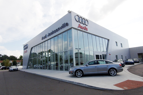 Audi jacksonville dealership opens today autoevolution for Jacksonville mercedes benz dealership