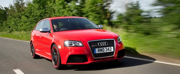 Audi Offering 250 More RS3 Sportbacks in UK