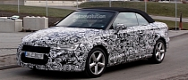 Audi Officially Announces New A3 Cabriolet Debut for September 8th