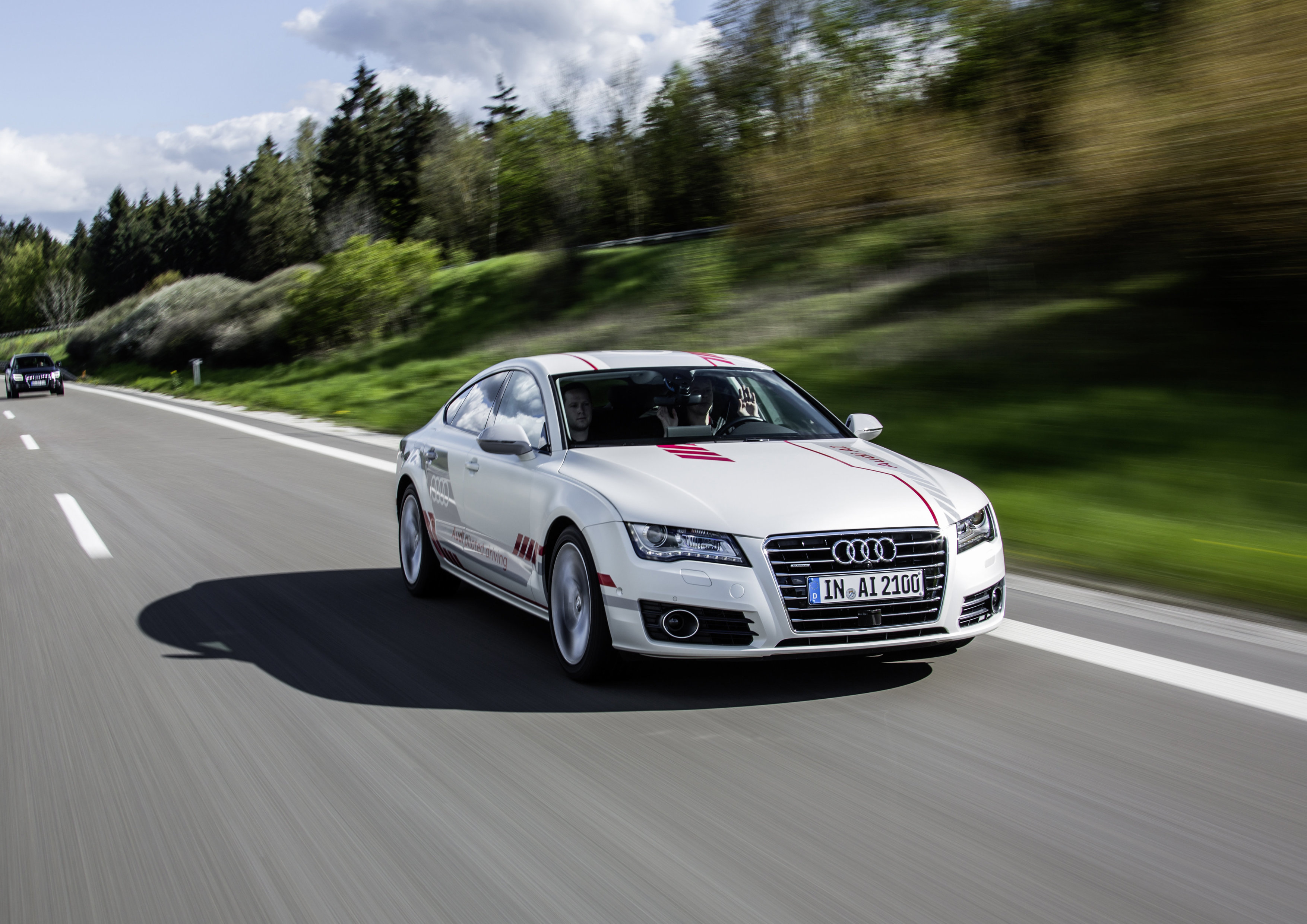 Audi Claims Its Self Driving Car Has Social Skills autoevolution