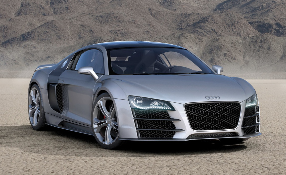 Audi Planning R10 Diesel Hybrid Supercar Based On R8