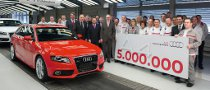 Audi Produces the 5 Millionth A4