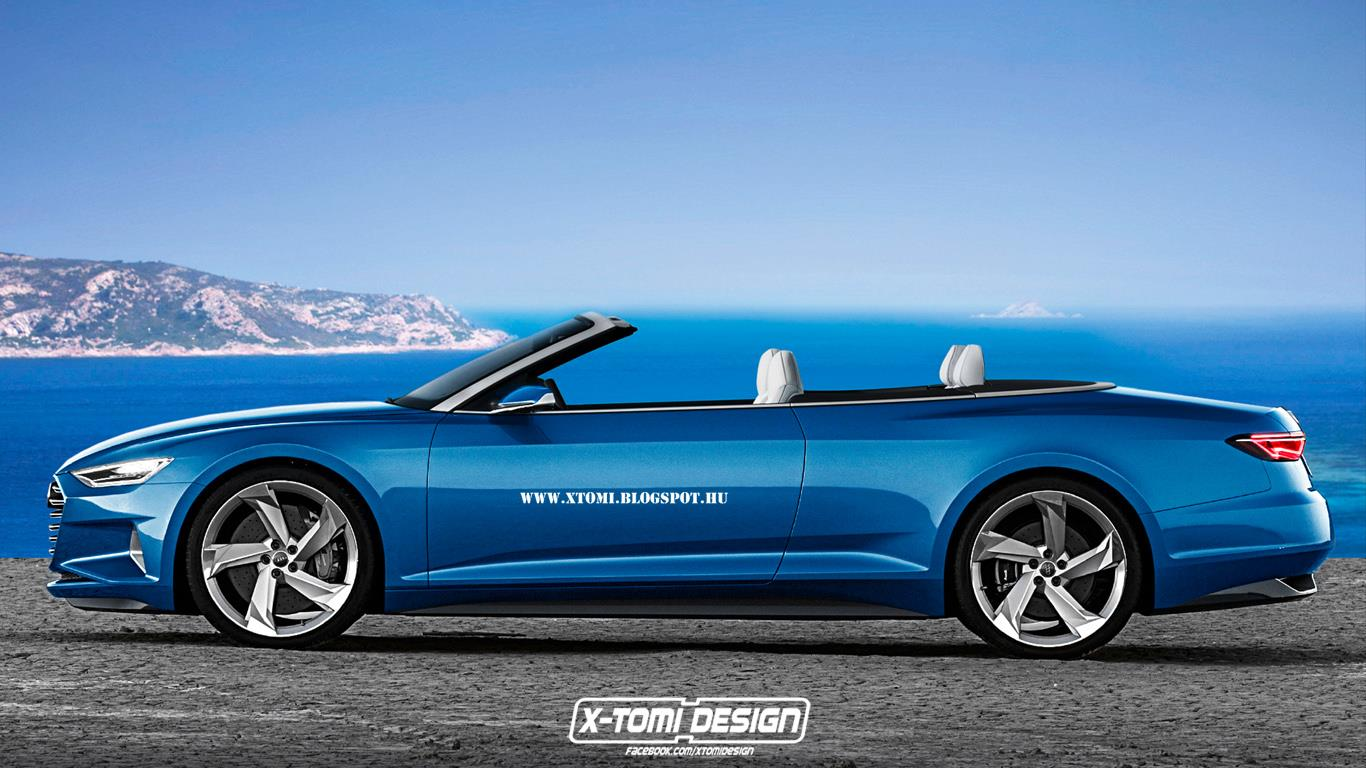 Audi Prologue Cabriolet Rendered: Potential A9 Drop-Top ...