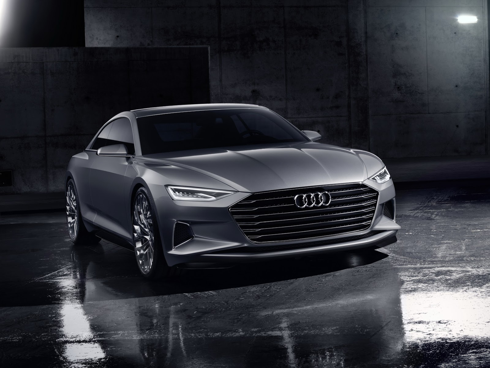 Audi Prologue Concept Is An S Class Coupe Rival In The Making Video