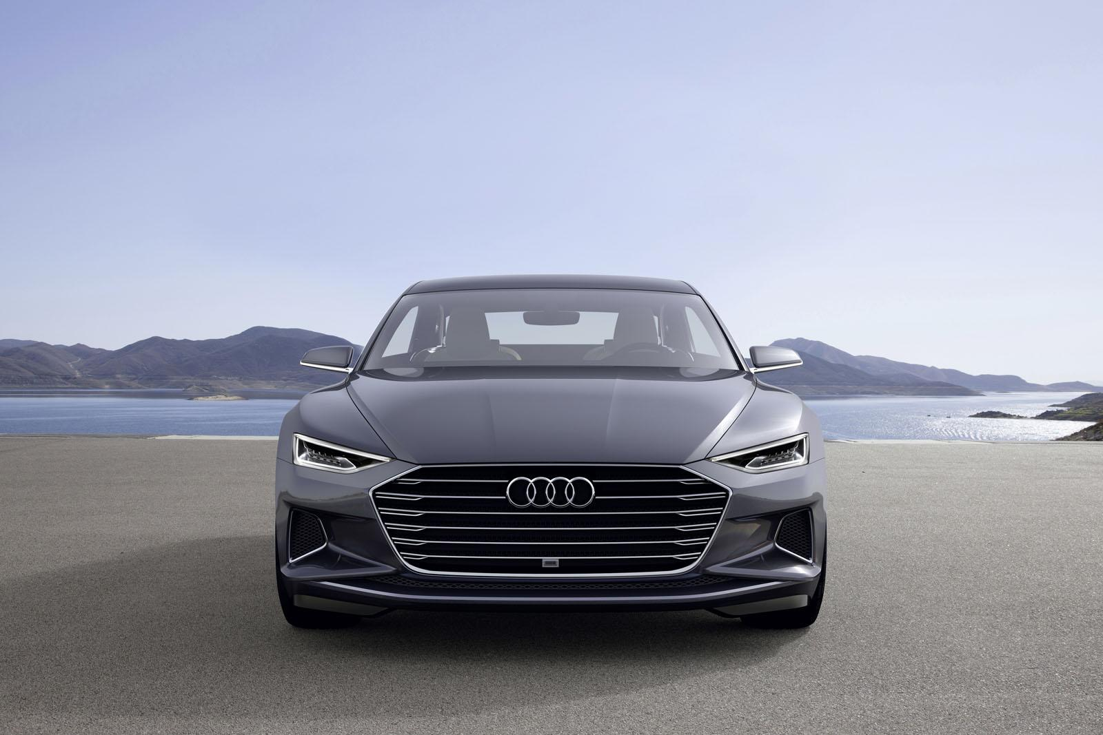 Audi Prologue Gets Hybrid V System And Piloted Driving Tech For - Audi official