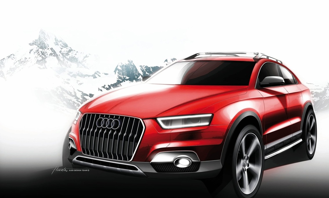 audi q1 coming in 2016 will get sq1 and rs q1 hot versions autoevolution. Black Bedroom Furniture Sets. Home Design Ideas