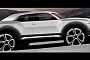 Audi Q1 Confirmed for 2016, Teaser Photo Released