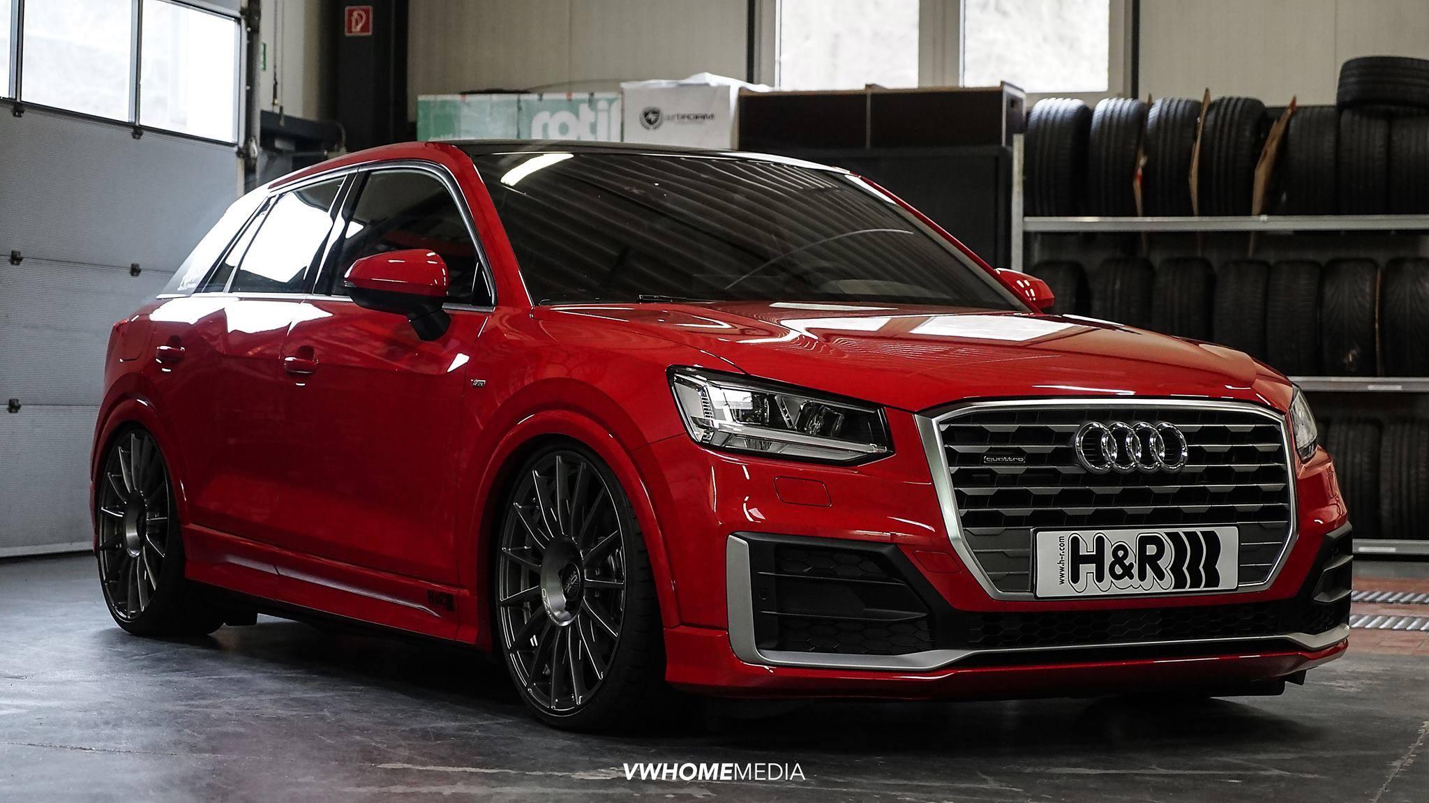 Audi Q Gets Lowered On Custom Wheels Looks Like A Hatch - Audi custom
