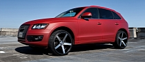 Audi Q5 Gets Concave Vossen Wheels [Photo Gallery]