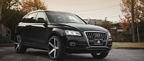 Audi Q5 on 22-Inch Vossen Wheels