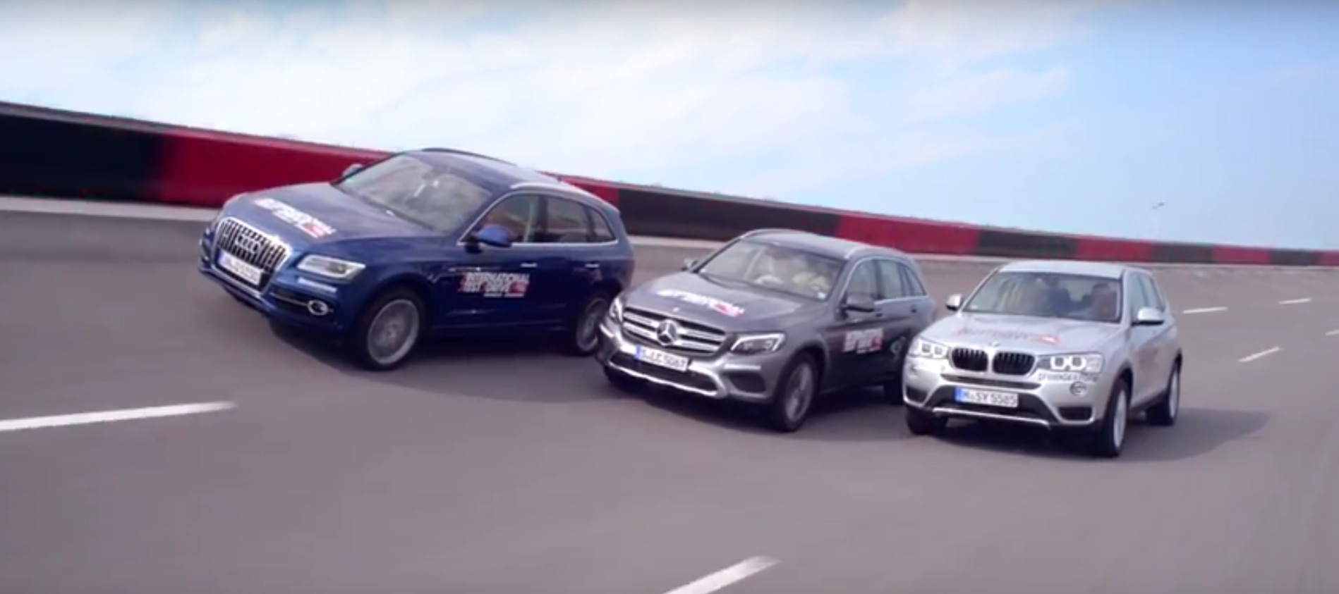 Audi Q5 vs BMW X3 vs Mercedes GLC Comparison Test Shows How Fast