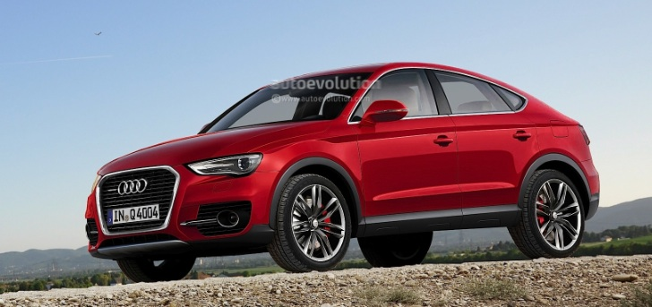 Audi Q6 Coupe Crossover Rendering Autoevolution