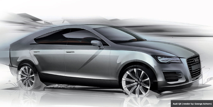 Audi Q6 Slated for 2016 Debut - autoevolution