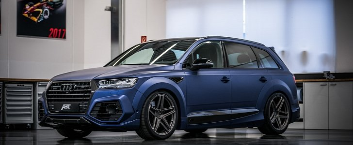 Audi Q7 And Sq7 Get Abt Widebody Kit And Vossen Forged Wheels Autoevolution