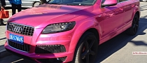 Audi Q7 Is a Chrome Pink Abomination in China