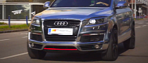 Audi Q7 Looks Magnetic in Chrome [Video]