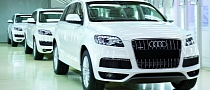 Audi Q7 Production Starts in India