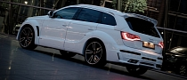 Audi Q7 Rides on JE Design Scorpio Wheels