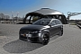 Audi Q7 V12 TDI with 600 HP: Matte Black Wrap by Fostla [Photo Gallery]