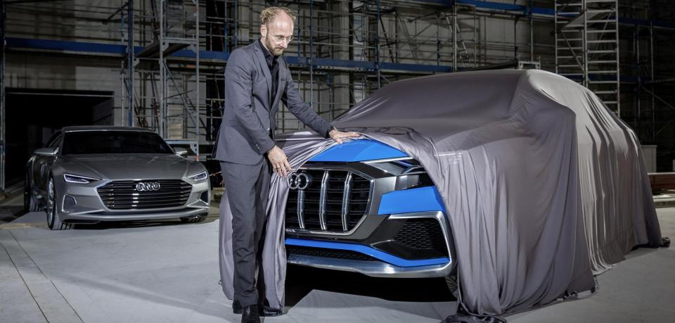 Update Audi Q8 E Tron Quattro Concept Previewed Ahead Of 2017